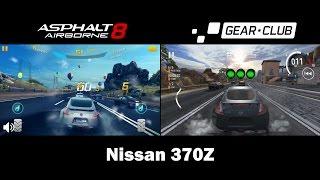 Asphalt 8 vs Gear.Club (Comparison)