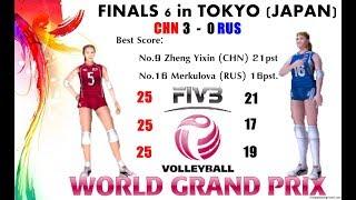 [Finals 6] China vs Russia - Volleyball Women
