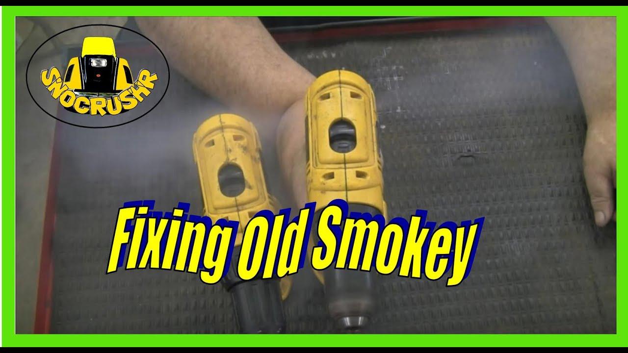 DeWalt DC 759 18V cordless drill fix/repair
