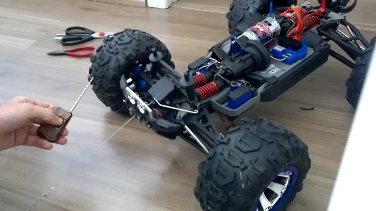 Traxxas Summit Rc Homemade Winch Youtube