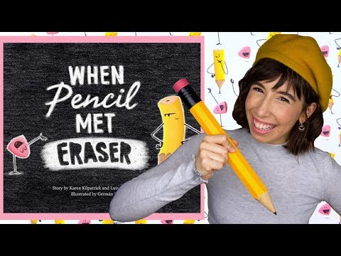 When Pencil Met Eraser | Read Aloud Story Time | Bri Reads