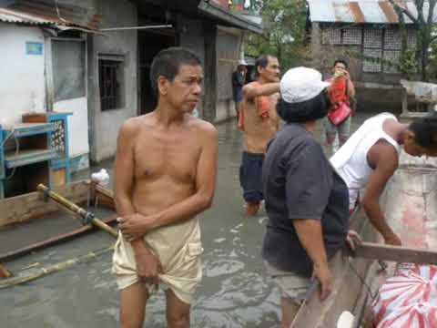 Relief Distrubution in Biñan Laguna (care of Pastor Rico)