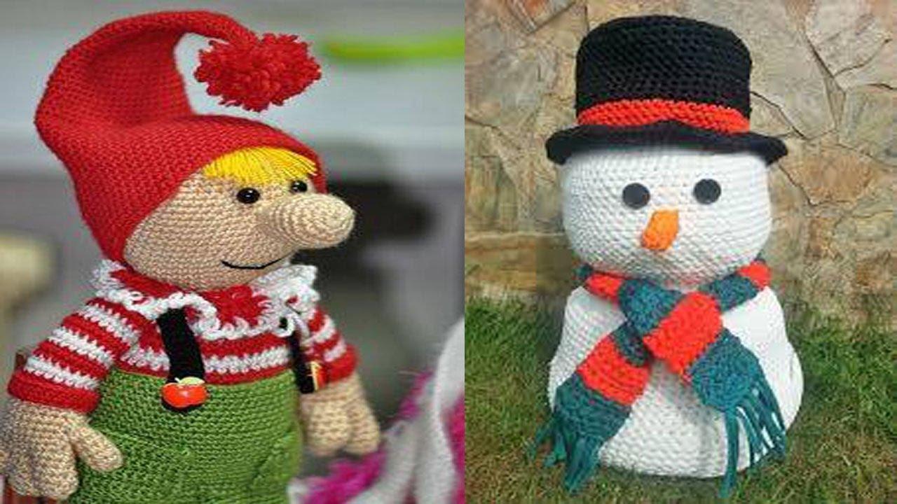 Amigurumis Navidad Paso A Paso : Amigurumi navidad en crochet tejido para noche buena youtube