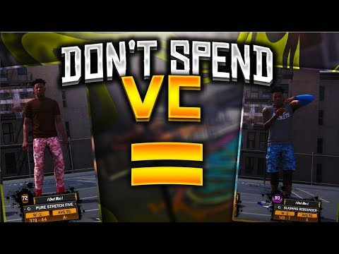 72 OVERALL UNSTOPPABLE- DO NOT SPEND VC NBA 2K18