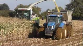 Tractors in Trouble - Chopper on Tracks!