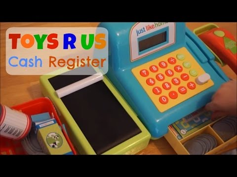 Toys R Us Just Like Home Cash Register | Pretend Play Shops | K's Toys