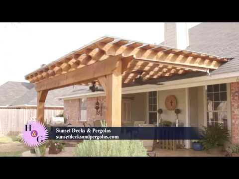 Deck Builder, Garden Structures, Pergolas & Arbors: Bossier City