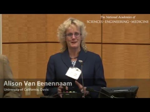 Overview of the Ethical Issues of Germ Line Modification in Animals (Alison Van Eenennaam)