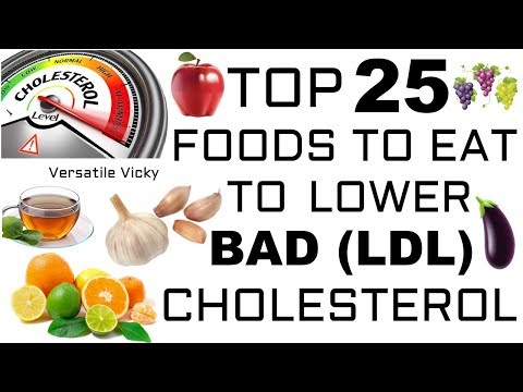 Top 25 Foods To Eat To Lower Bad Cholesterol (LDL)
