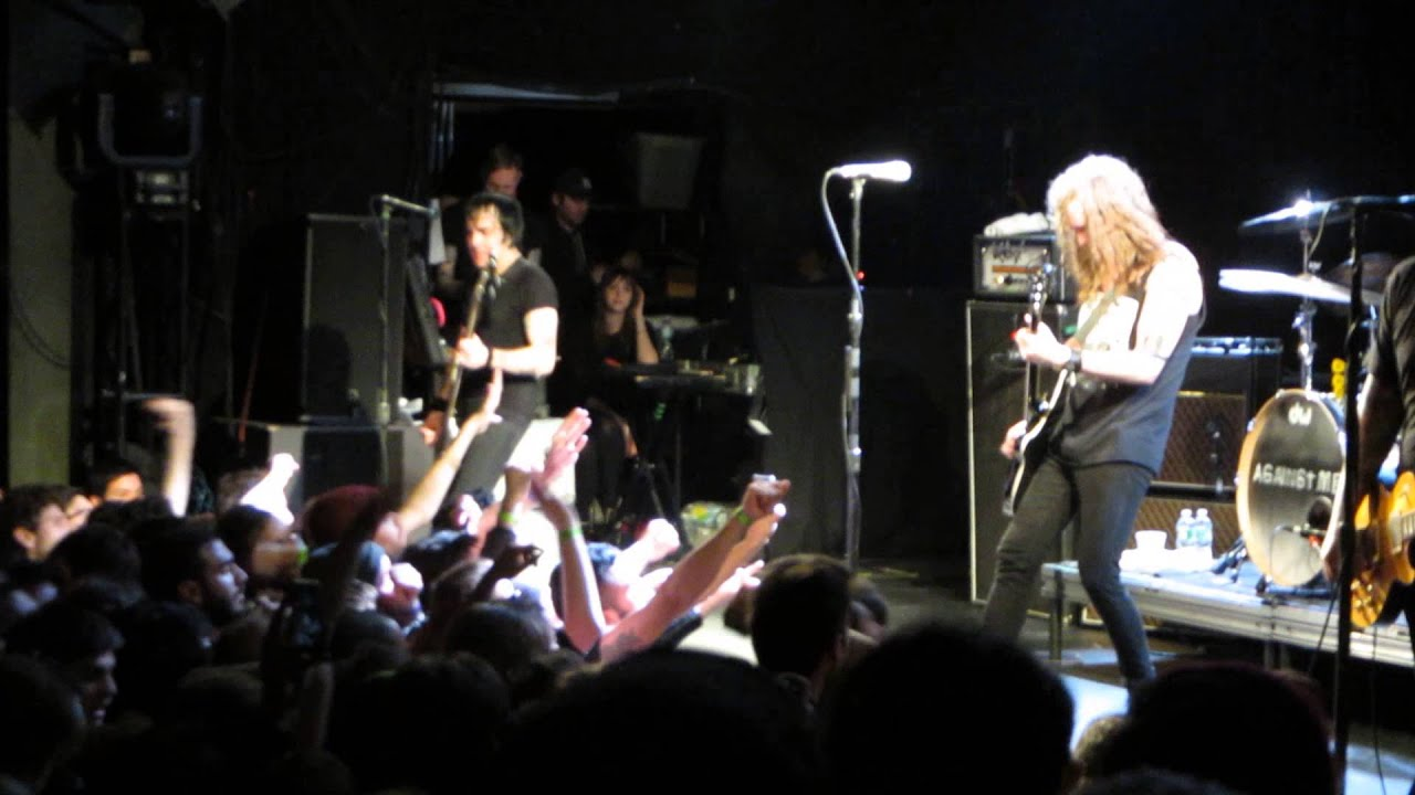 Against me losing touch