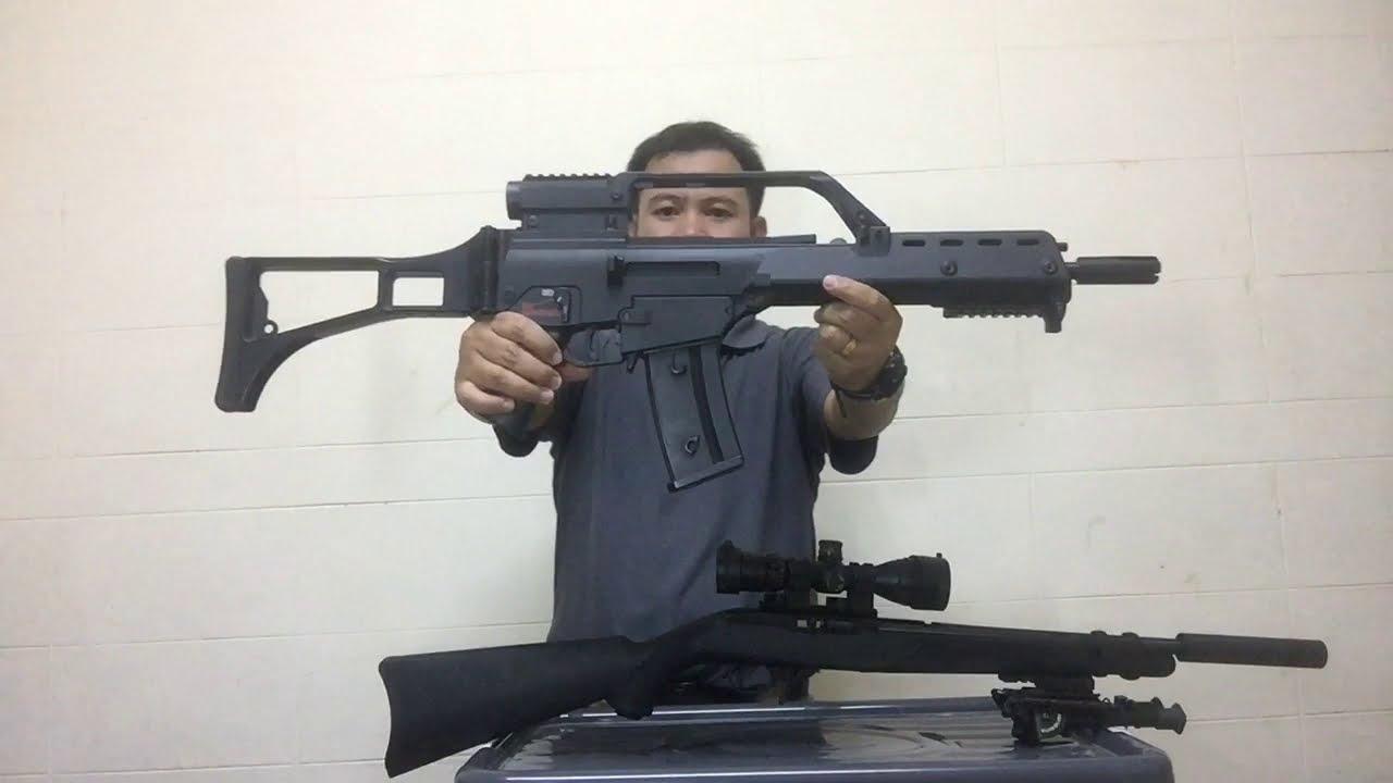 ปืนยาว .22 รีวิว(Ruger 10/22)