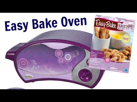 Toy Kitchen For Kids. Easy Bake Oven & Pretzels