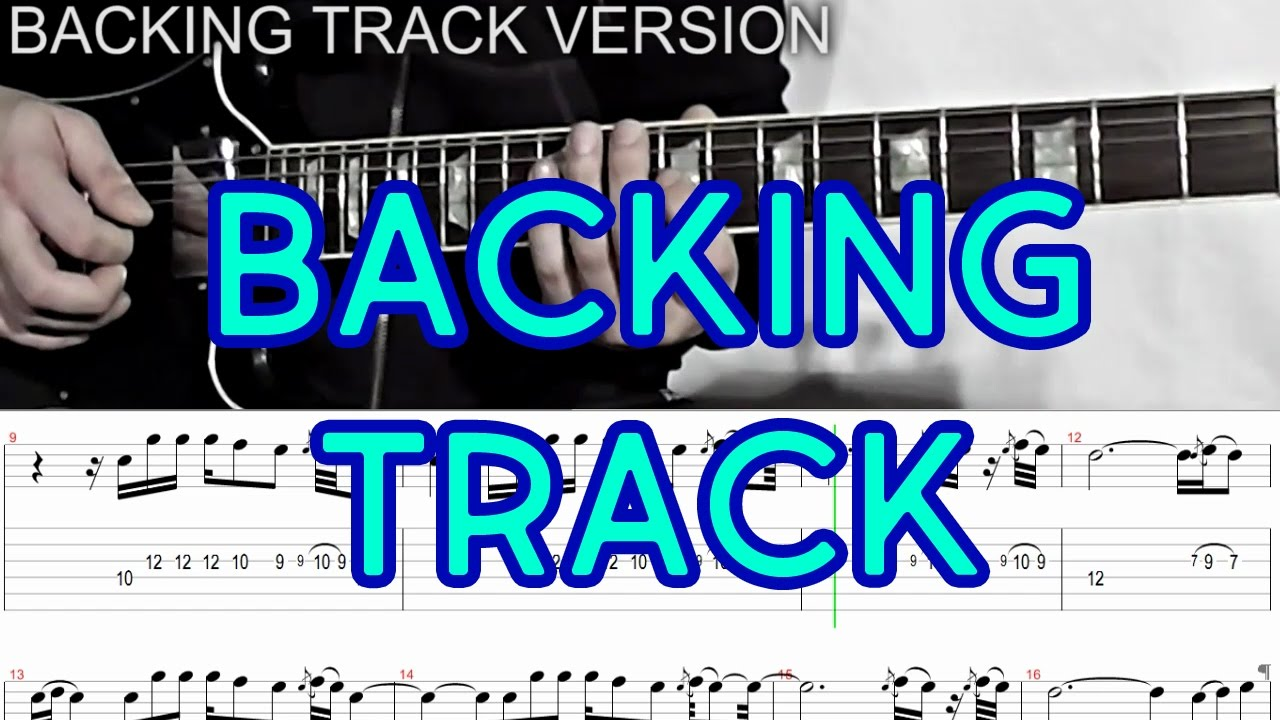 Backing Track Instrumental ballad guitar with tabs - Love Solo