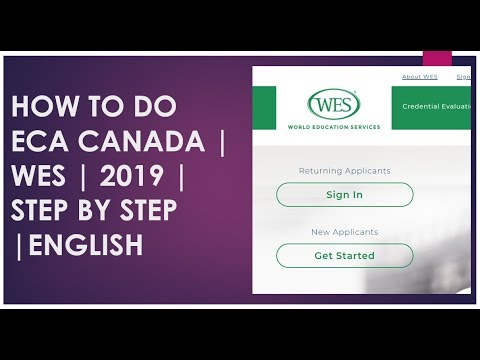 How To Apply For ECA | Canada PR | WES |2019|Step By Step |English | Canada Express Entry