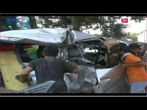 Kecelakaan Maut Minibus Vs 2 Bus di Sidoarjo, 2 Orang Tewas - LIM 10/09