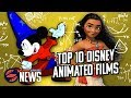 Number Crunch: Top 10 Disney Animated Movies Of All Time