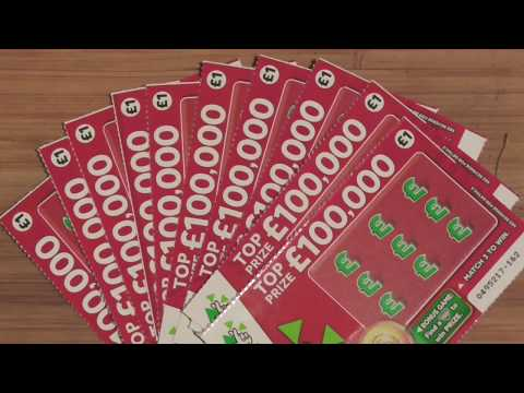 scratch cards  , x10 cards ,  found some WINNERS