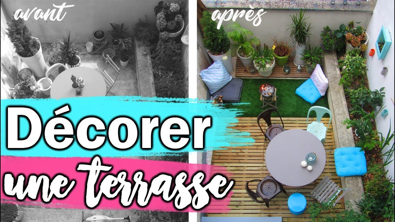 Comment d corer une terrasse youtube - Comment decorer une terrasse ...