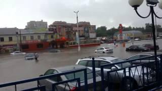 Наводнение в Курске 20 июня 2015 года