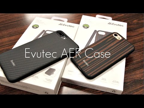 Carbon Fibre and Wood Cases for the iPhone! - Evutec AER Case - iPhone 7 / 7 PLUS - Review