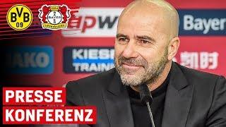 """""""Wir wollen wie im letzten Monat auftreten""""   Pressekonferenz vor Borussia Dortmund   Bundesliga"""