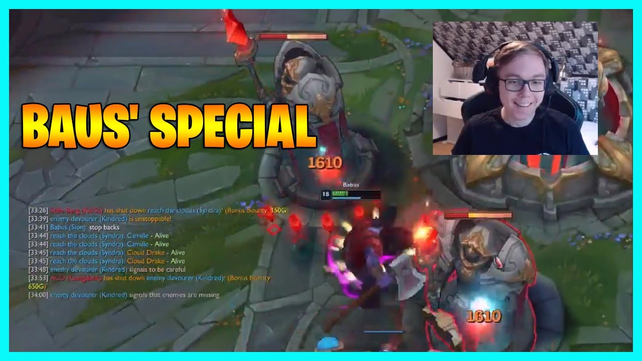 BAUS' SPECIAL...LoL Daily Moments Ep 1559