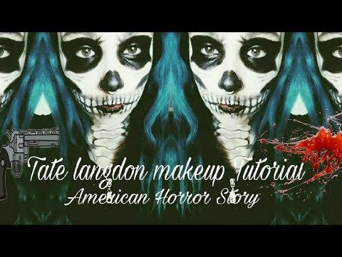 AMERICAN HORROR STORY | Tate Langdon Makeup Tutorial