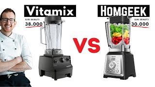 Vitamix vs Homgeek - la sfida …