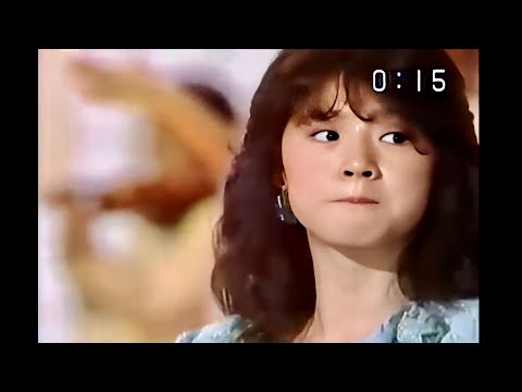 中森明菜「禁区」1984年