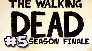 The Walking Dead Episode 5: NO TIME LEFT Walkthrough Ep.5: A SAD & DEPRESSING ENDING