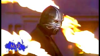 BURNED ALIVE! IS THIS THE END OF THE MASKED MAGICIAN?