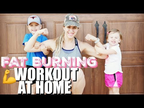 Stay At Home Mom Fitness Routine | Workout At Home | Workout Motivation | Fit Mom Workout