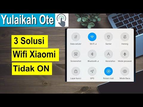 3 Cara Mengatasi Wifi Tidak Bisa On di Xiaomi.