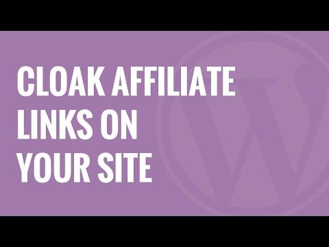 How to Cloak Affiliate Links on Your WordPress Site - 동영상