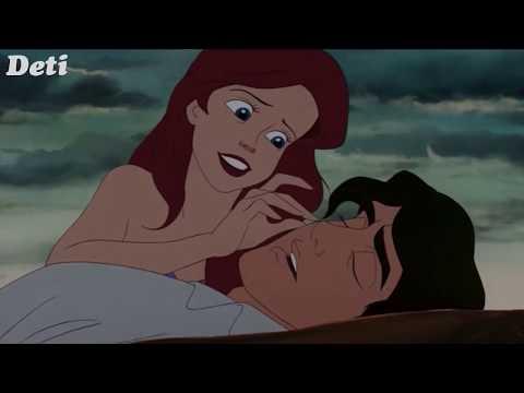 Ариэль с принцем мультфильм