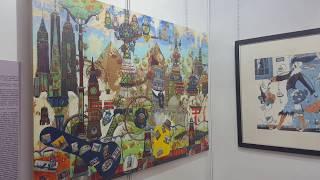 Смотреть видео Выставка АРТ ПЕРМЬ 2019: Петр Фролов, Санкт-Петербург часть 1 онлайн