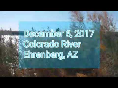 Colorado River, Ehrenberg AZ...Just a waterside drive in the desert.
