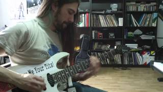 Warrant - Cherry Pie guitar cover by Tral