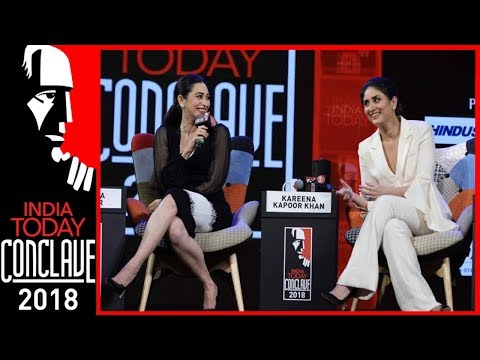 Sridevi, Madhuri Inspired Me To Act: Kareena Kapoor With Sister Karisma  IT Conclave 2018