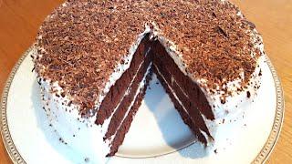 Торт Шоколадный на Сковороде - Вкусный и Сочный
