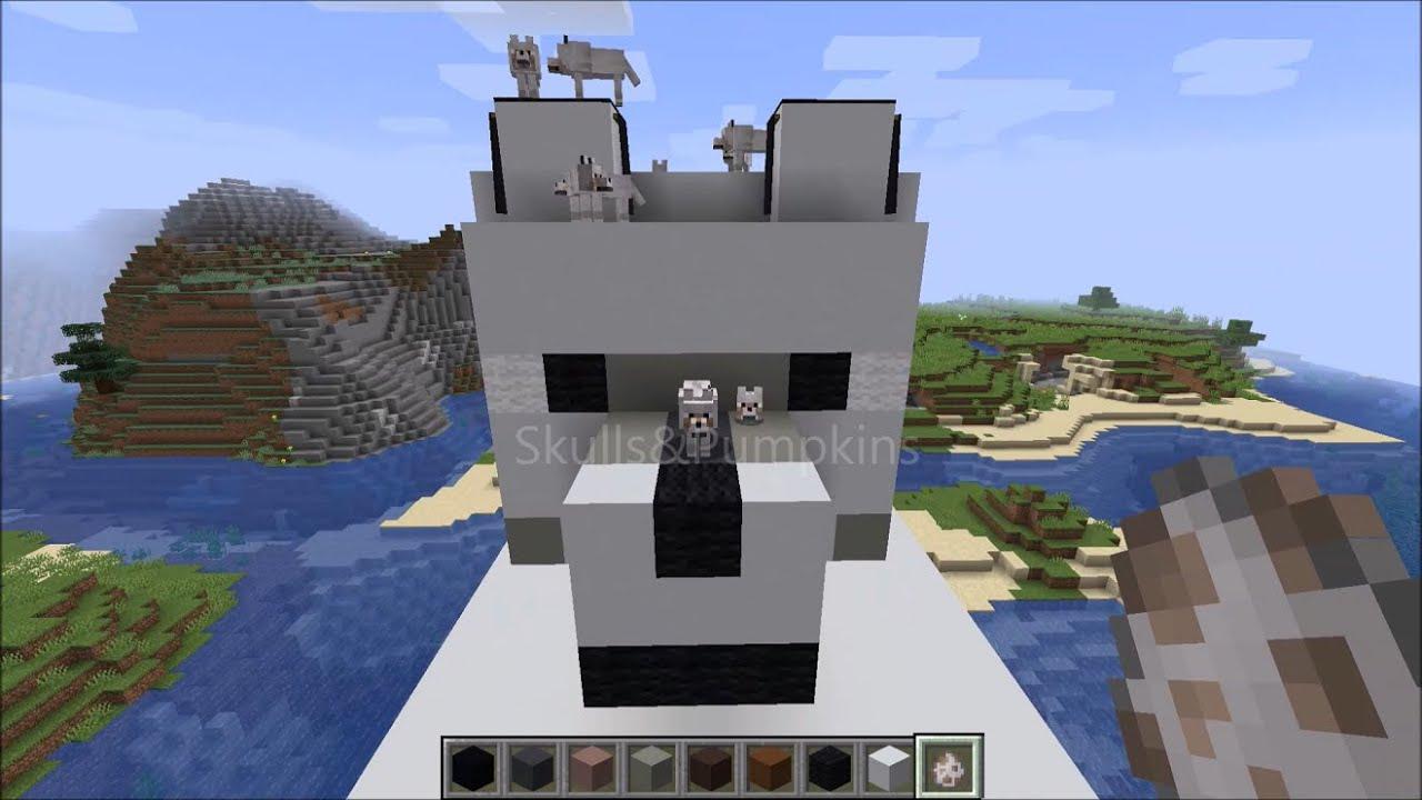 Im Building A Giant Wolf Minecraft Pixel Art 3d Timelapse 2