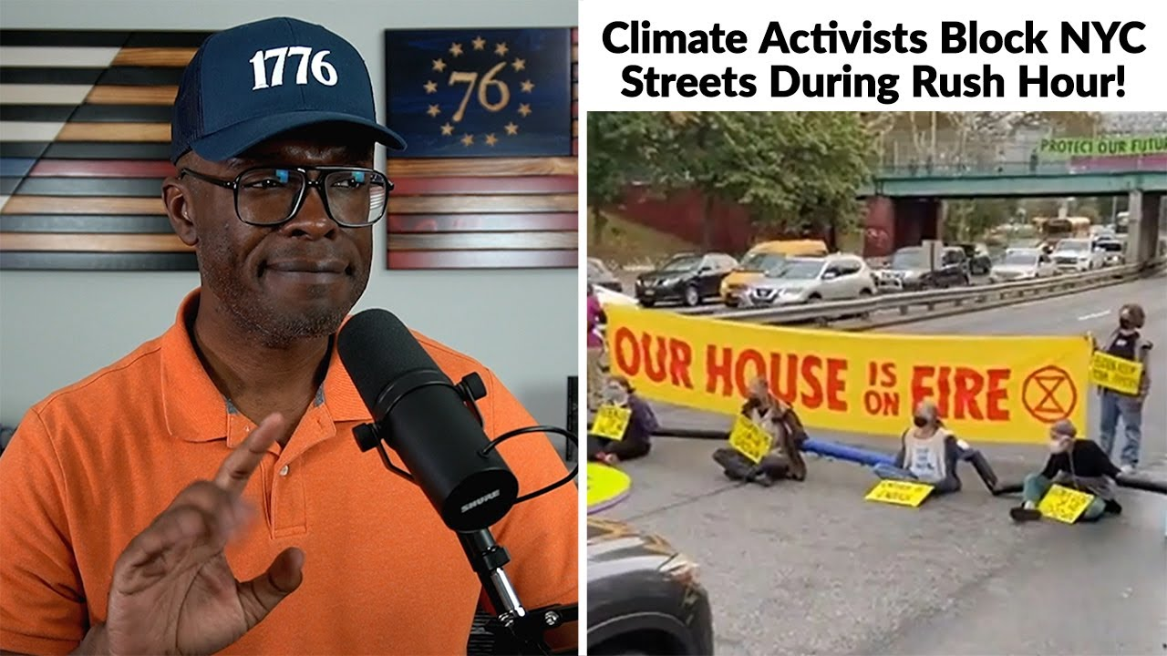"""Climate """"Activists"""" SHUT DOWN NYC Highways During RUSH HOUR!"""