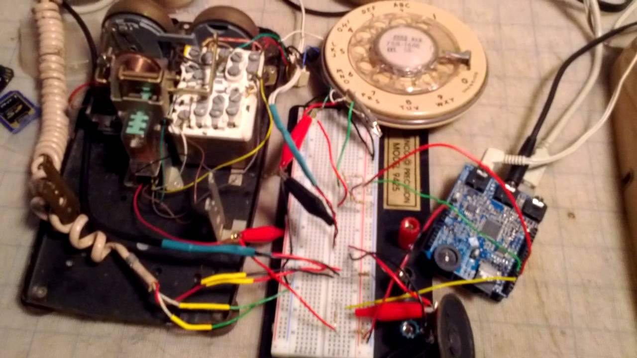 Arduino Rotary Phone - Basic Functionality