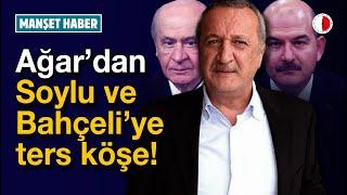 MEHMET AĞAR ÖYLE BİR LAF ETTİ Kİ! #Peker #Soylu #Bahçeli #Erdoğan #Mübariz Mansimov #SedatPeker