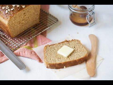 Whole Wheat Honey Oatmeal Bread recipe