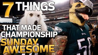 7 AWESOME Things from the AFC & NFC Championships! | NFL Highlights