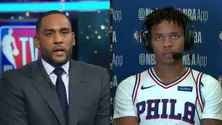 Markelle Fultz Reacts to His Perfect Season Debut And Fixable Jumpshot!