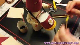 Como hacer tambor goma eva parte 4