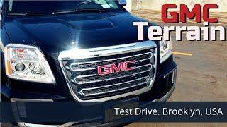 Test Drive.  GMC Terrain 2017.  Заокеанский паркетник из США за 2 млн рублей