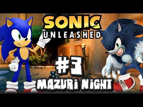 Sonic Unleashed (360/PS3) - (1080p) Part 3 - Mazuri Night